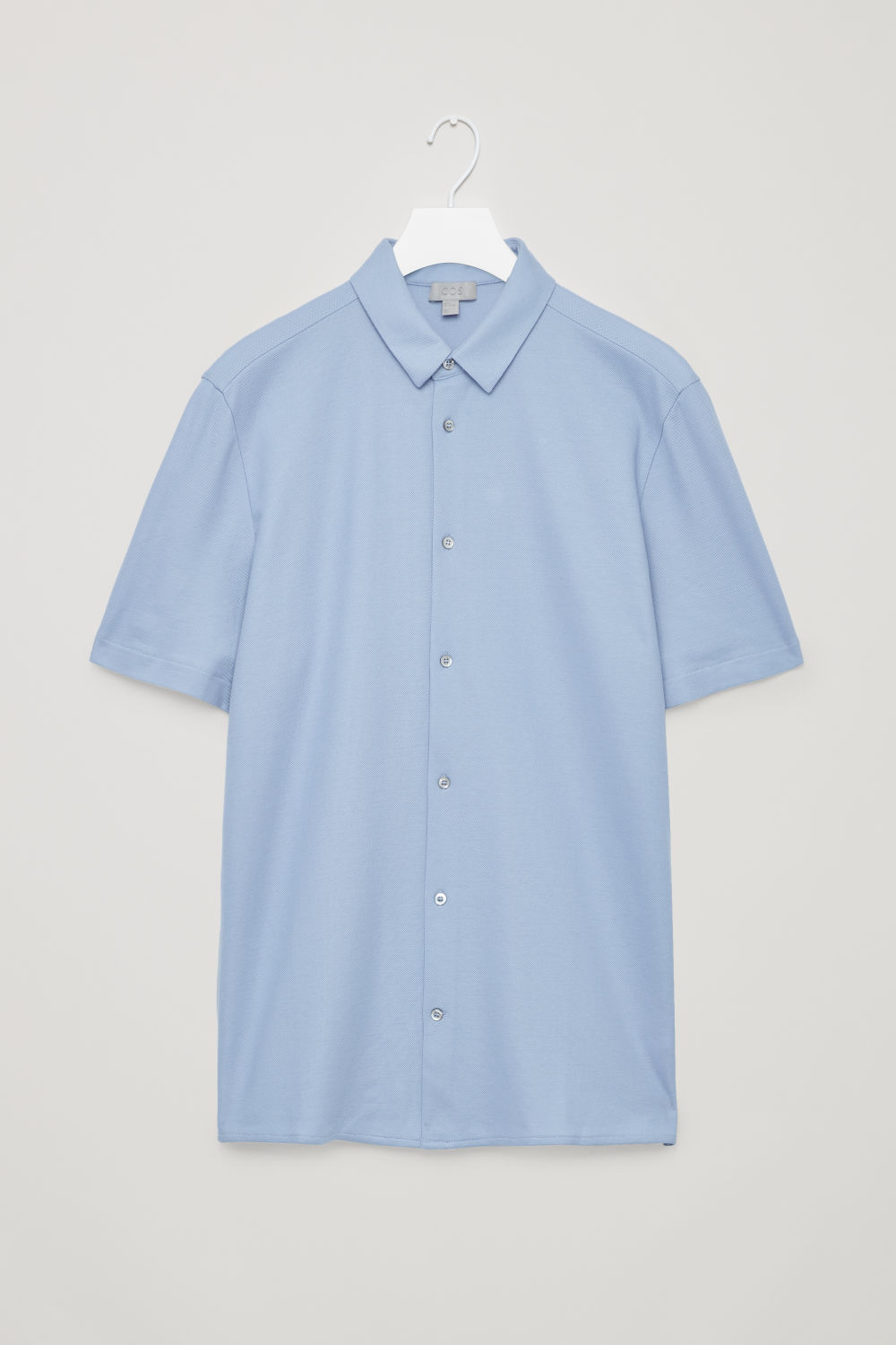 SHORT-SLEEVED PIQUE SHIRT