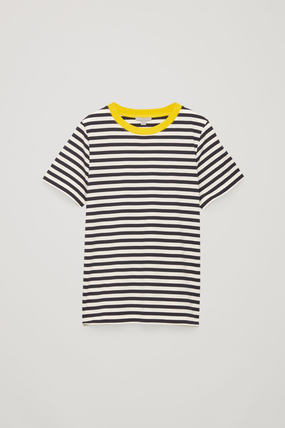 Front image of Cos cotton t-shirt in blue
