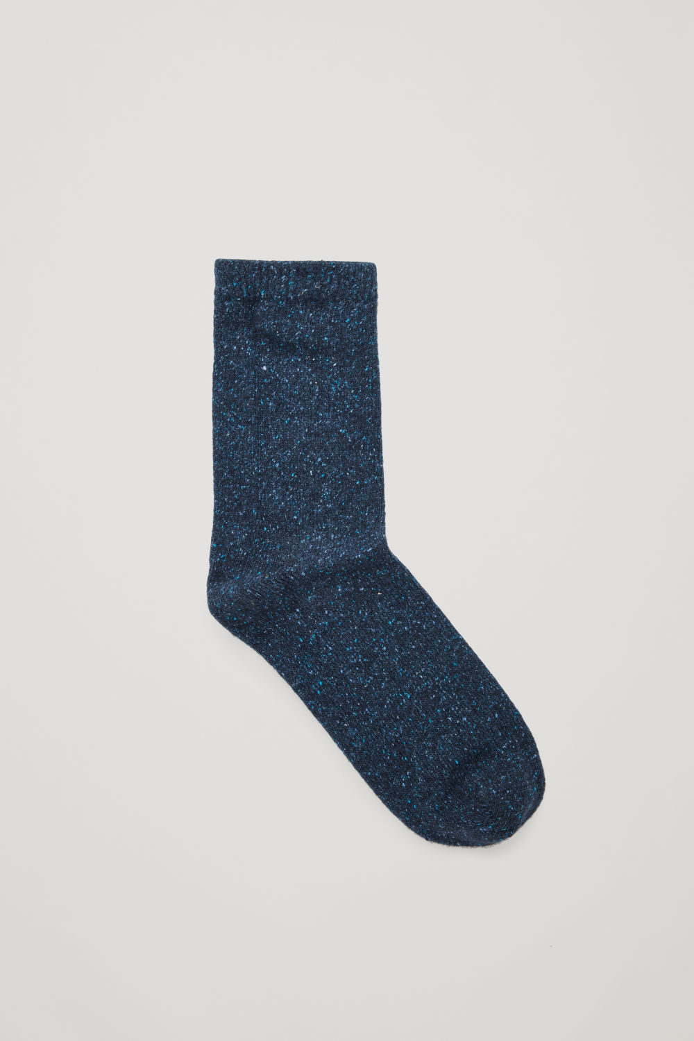 SPECKLED WOOL-SILK SOCKS