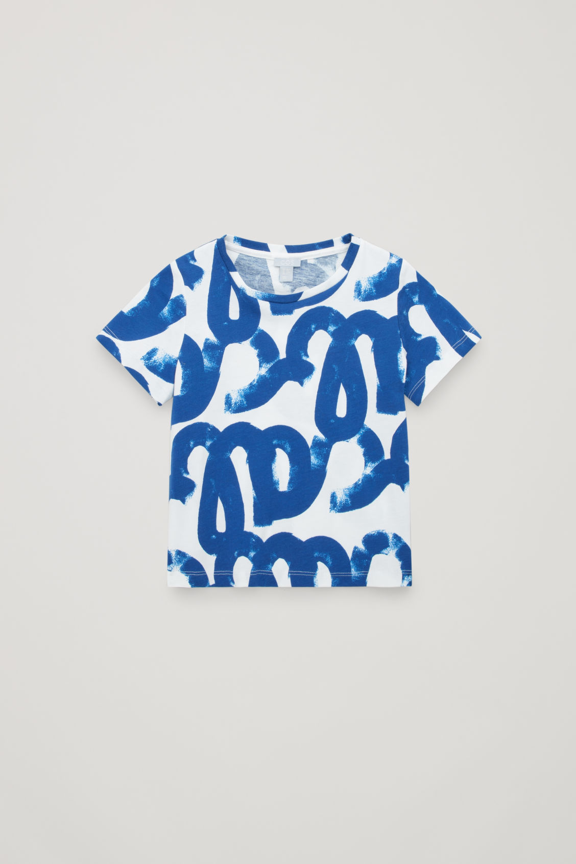 BLOCK PRINT COTTON T-SHIRT
