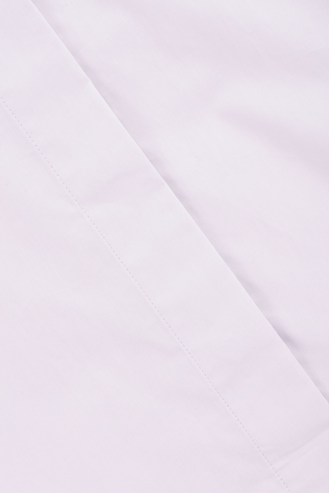 Side image of Cos cotton-poplin a-line shirt in purple
