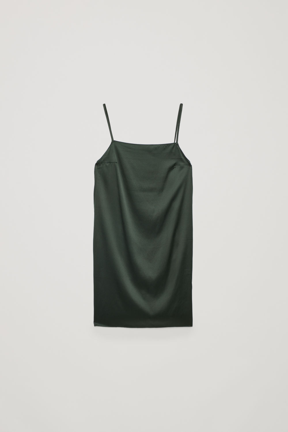 SHORT SILK SLIP DRESS