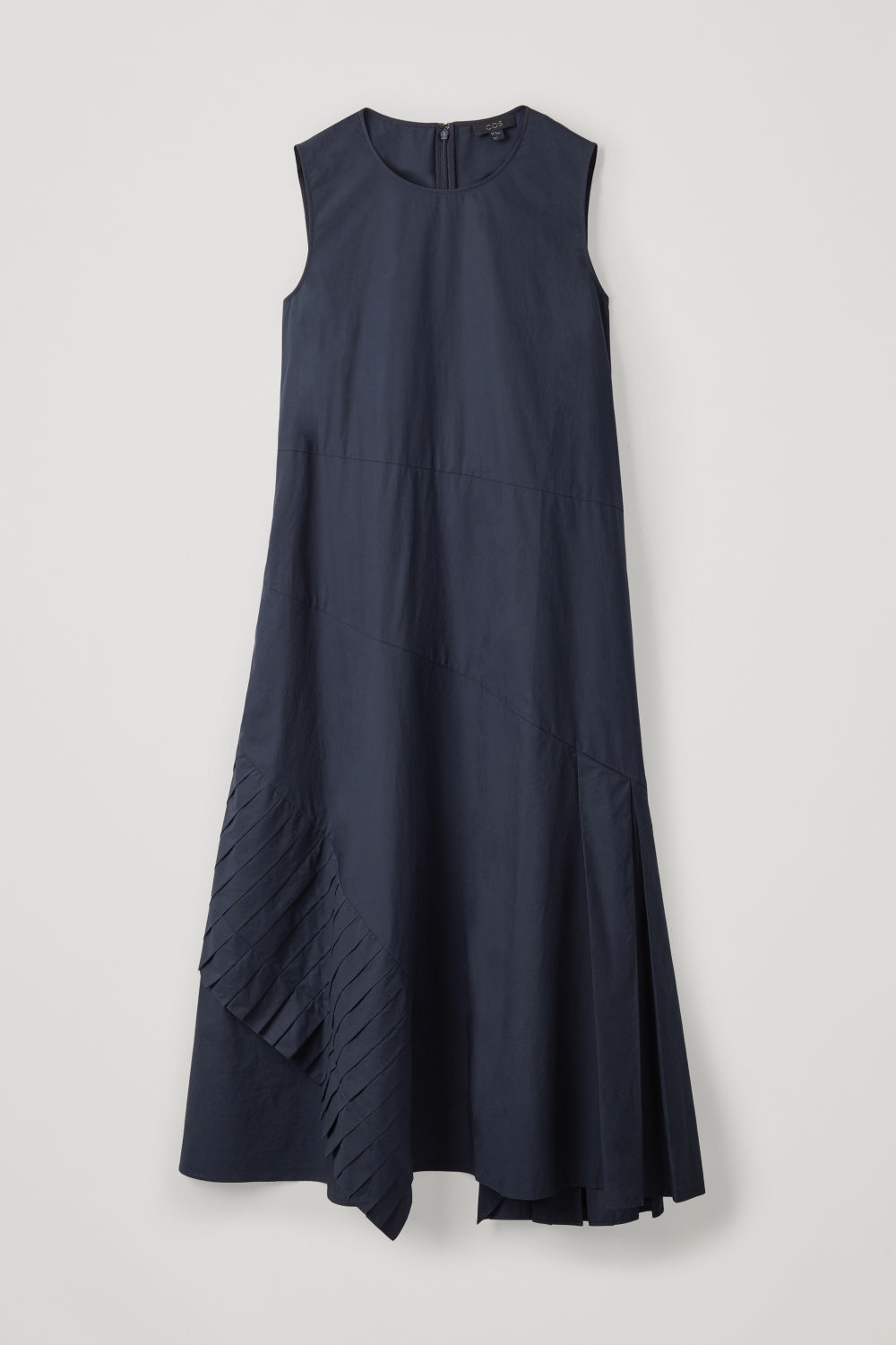 40f8fa8b79 ... A-LINE DRESS WITH PLEATED DRAPE