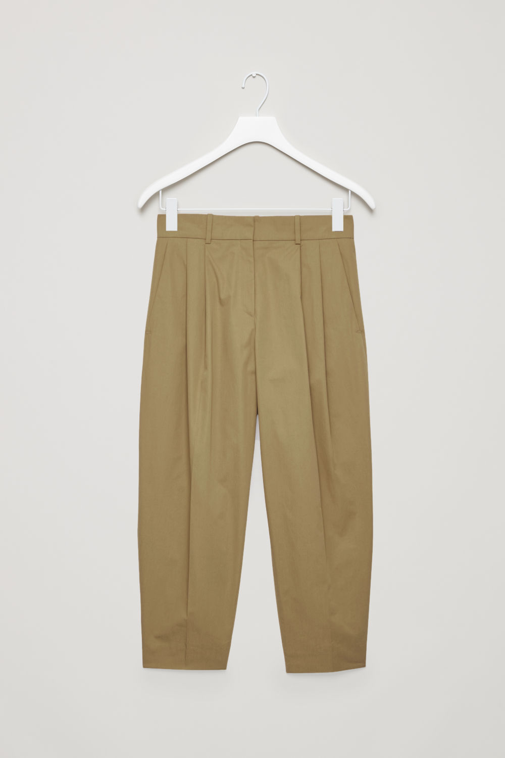 WIDE TAPERED TROUSERS