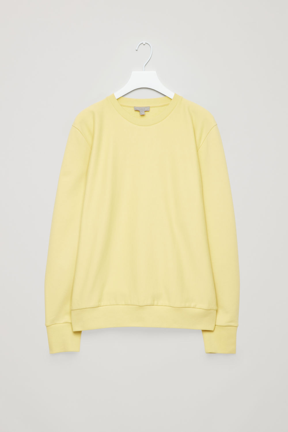 RELAXED COTTON SWEATSHIRT