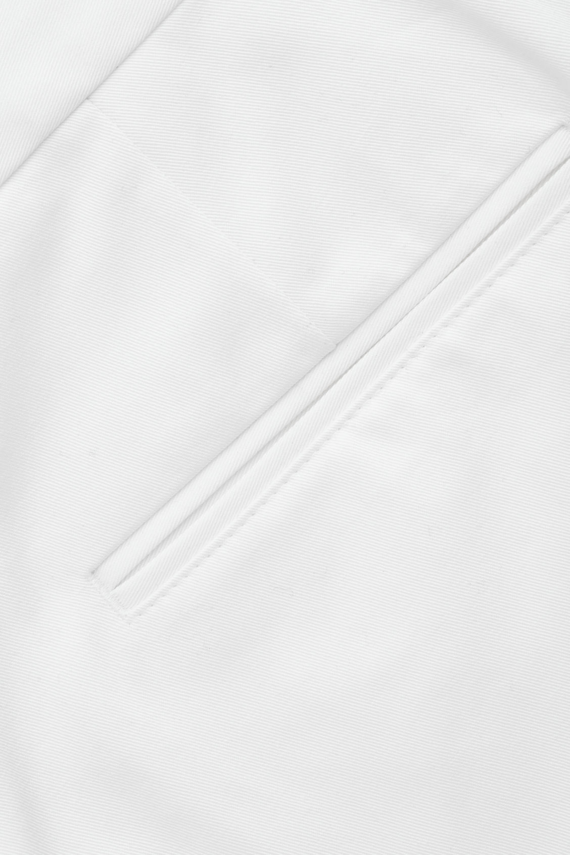 Side image of Cos slim-fit cotton twill chinos  in white