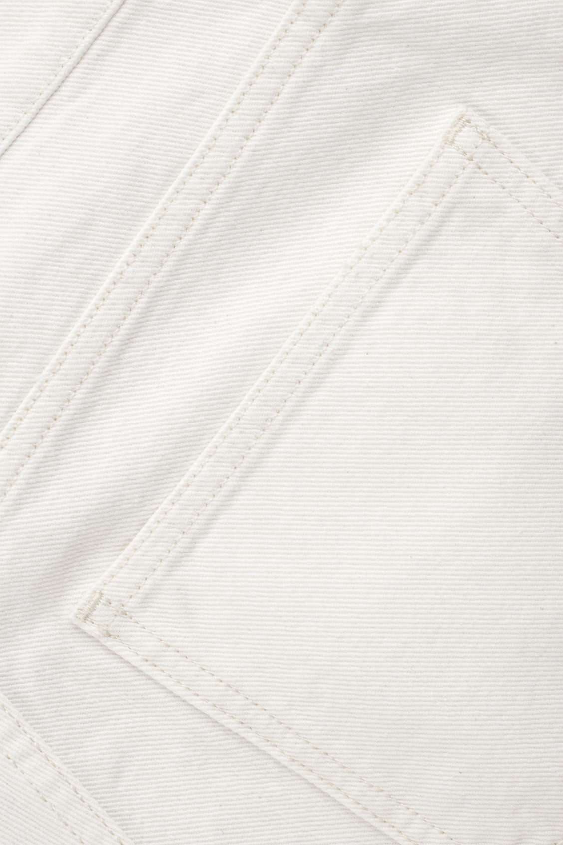 Side image of Cos 5-pocket wide-leg jeans in neutral