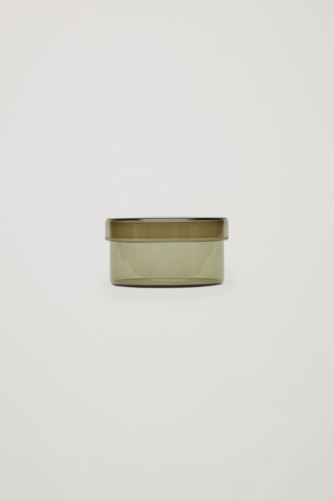 Front image of Cos hay medium container in grey