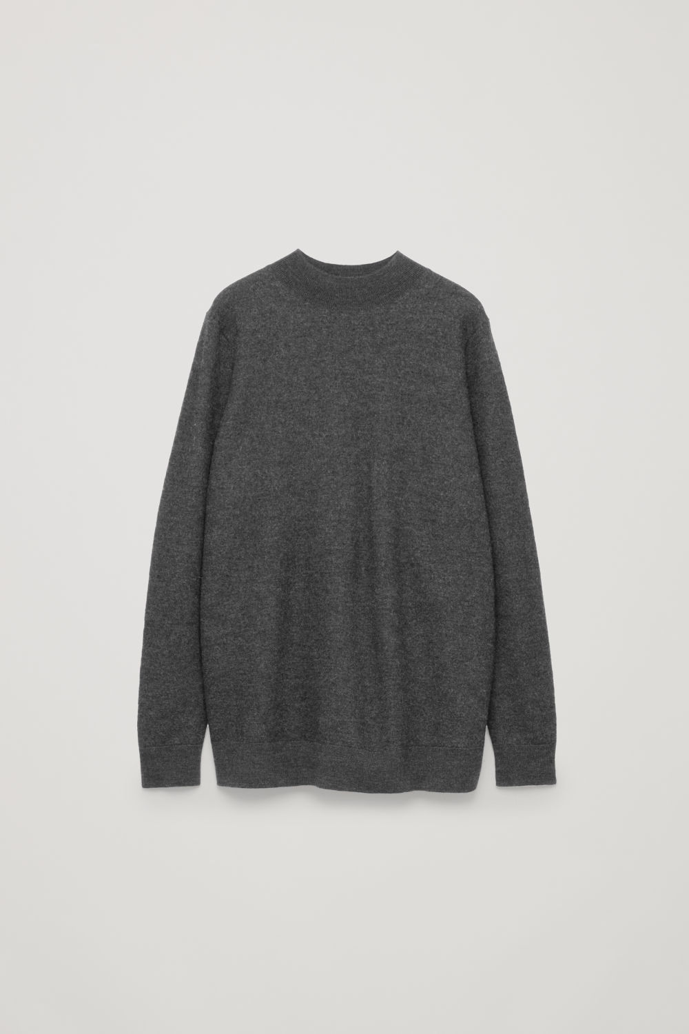 BOW-DETAILED WOOL JUMPER