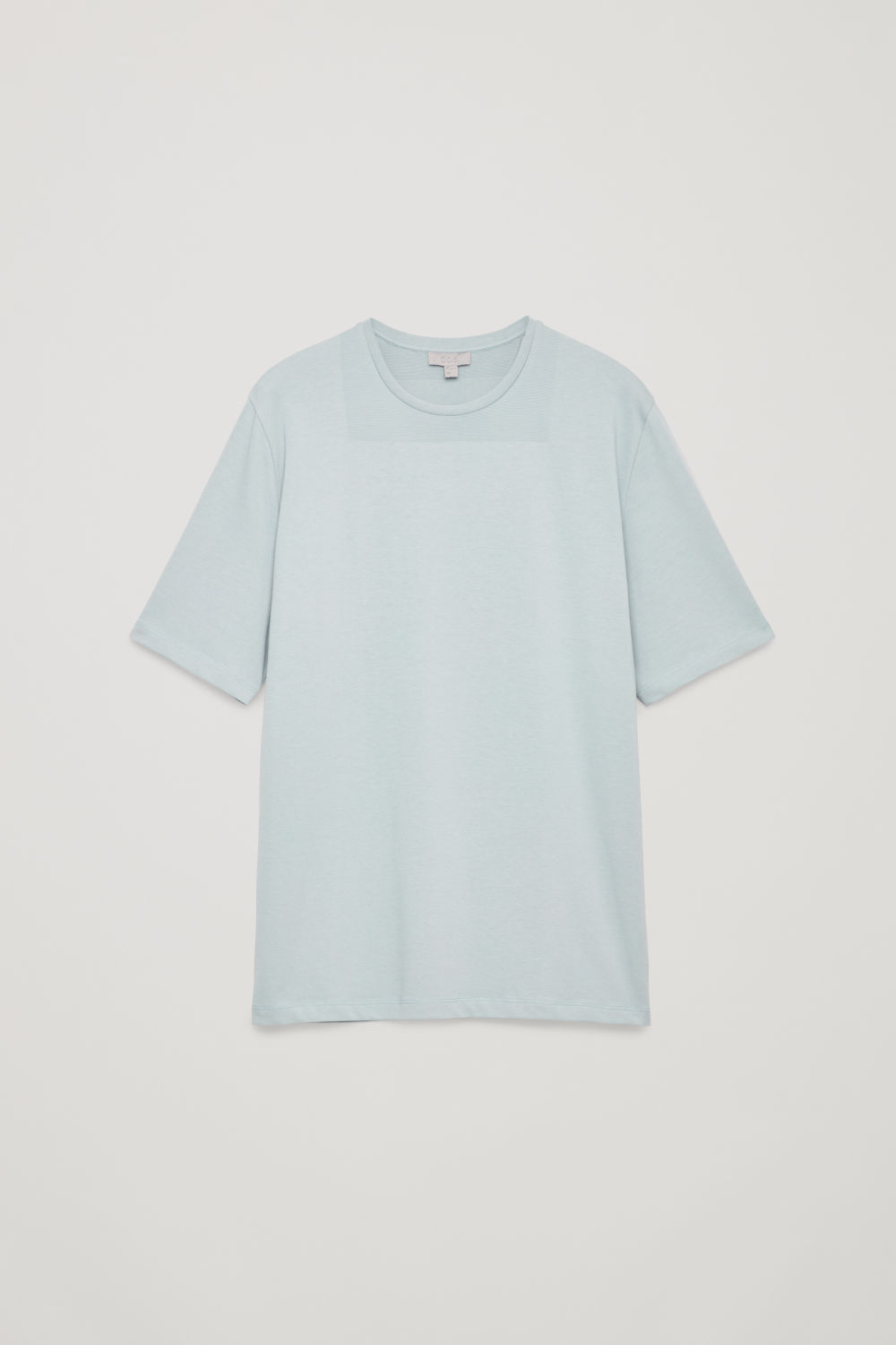 NECK-DETAIL COTTON T-SHIRT