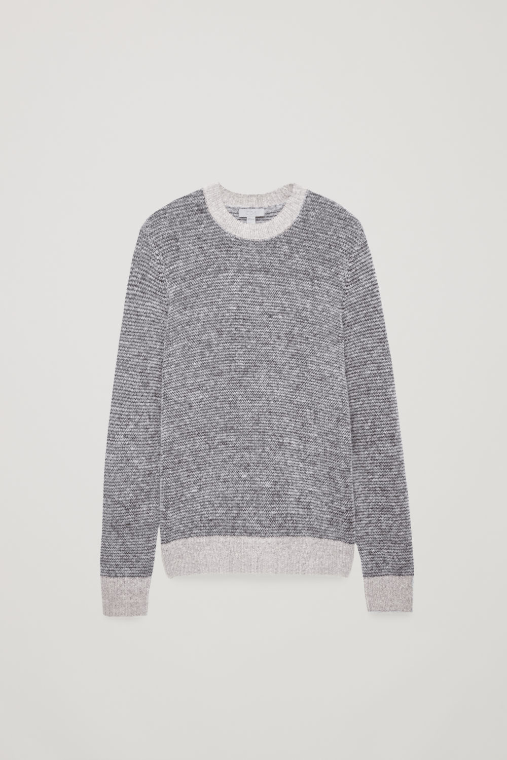 CHUNKY-KNIT ROUND-NECK JUMPER