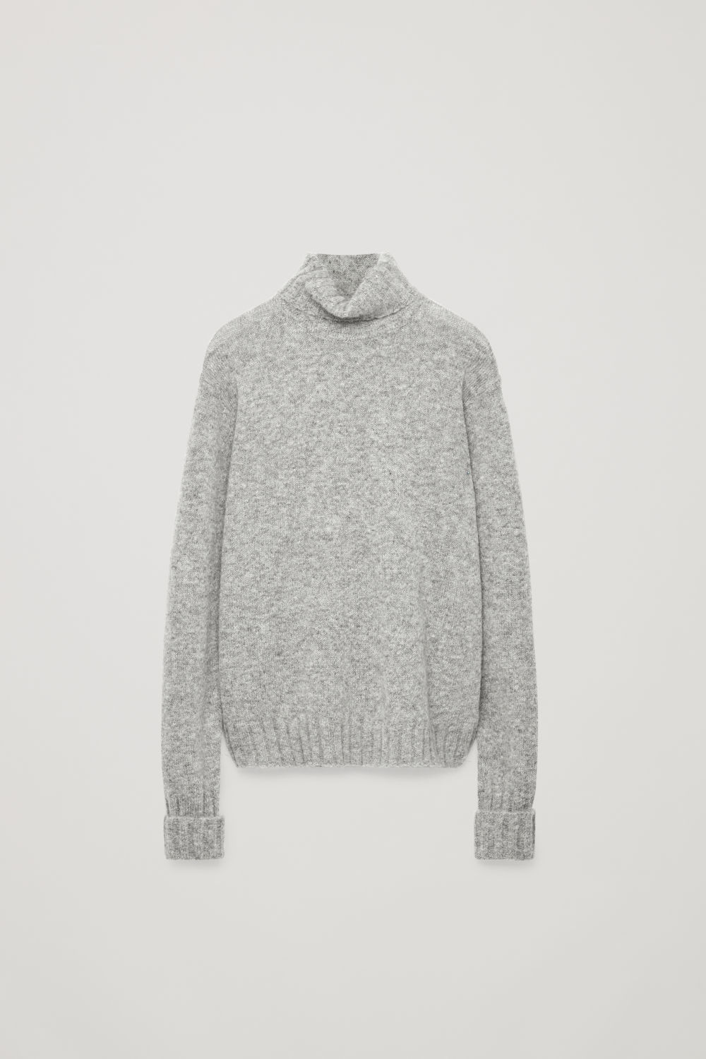 CHUNKY ROLL-NECK JUMPER