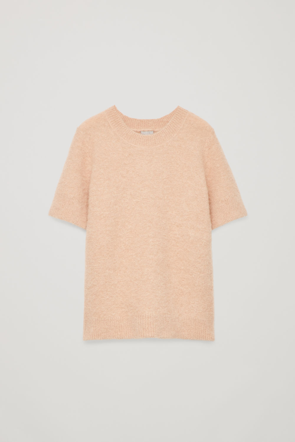 TEXTURED KNITTED T-SHIRT