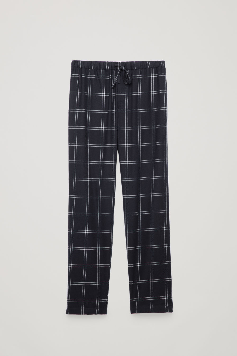CHECK COTTON PYJAMA TROUSERS