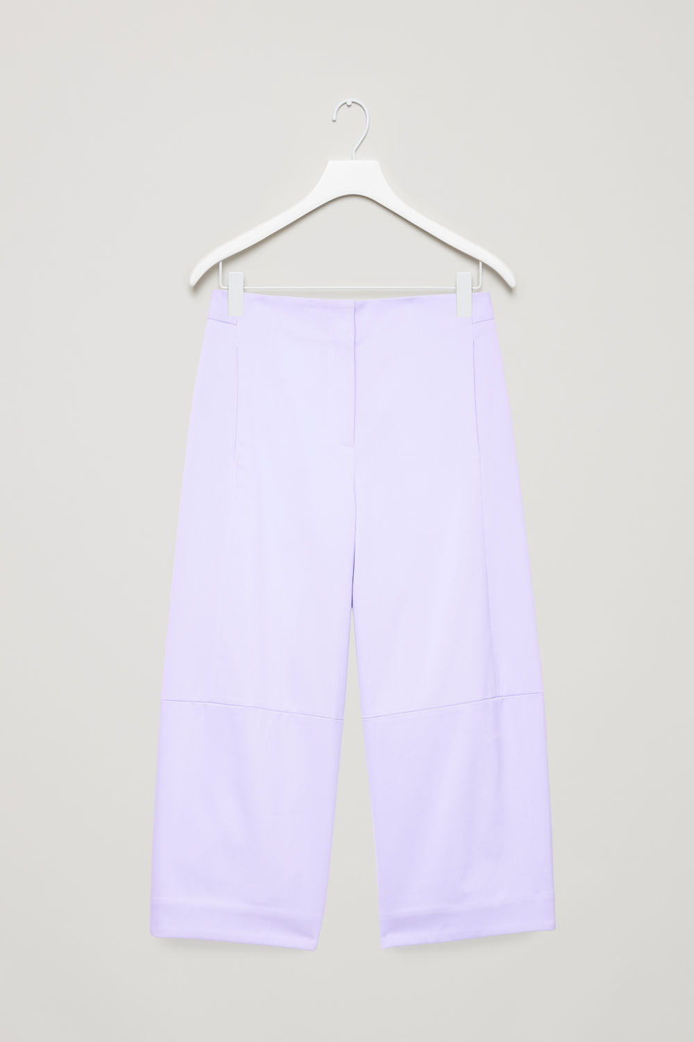 STRUCTURED COTTON-TWILL CHINOS