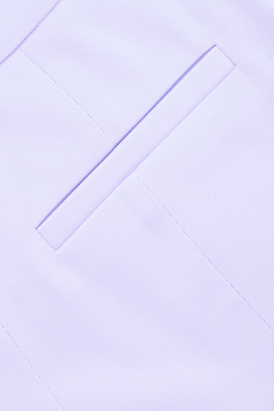 Side image of Cos structured cotton-twill chinos in purple