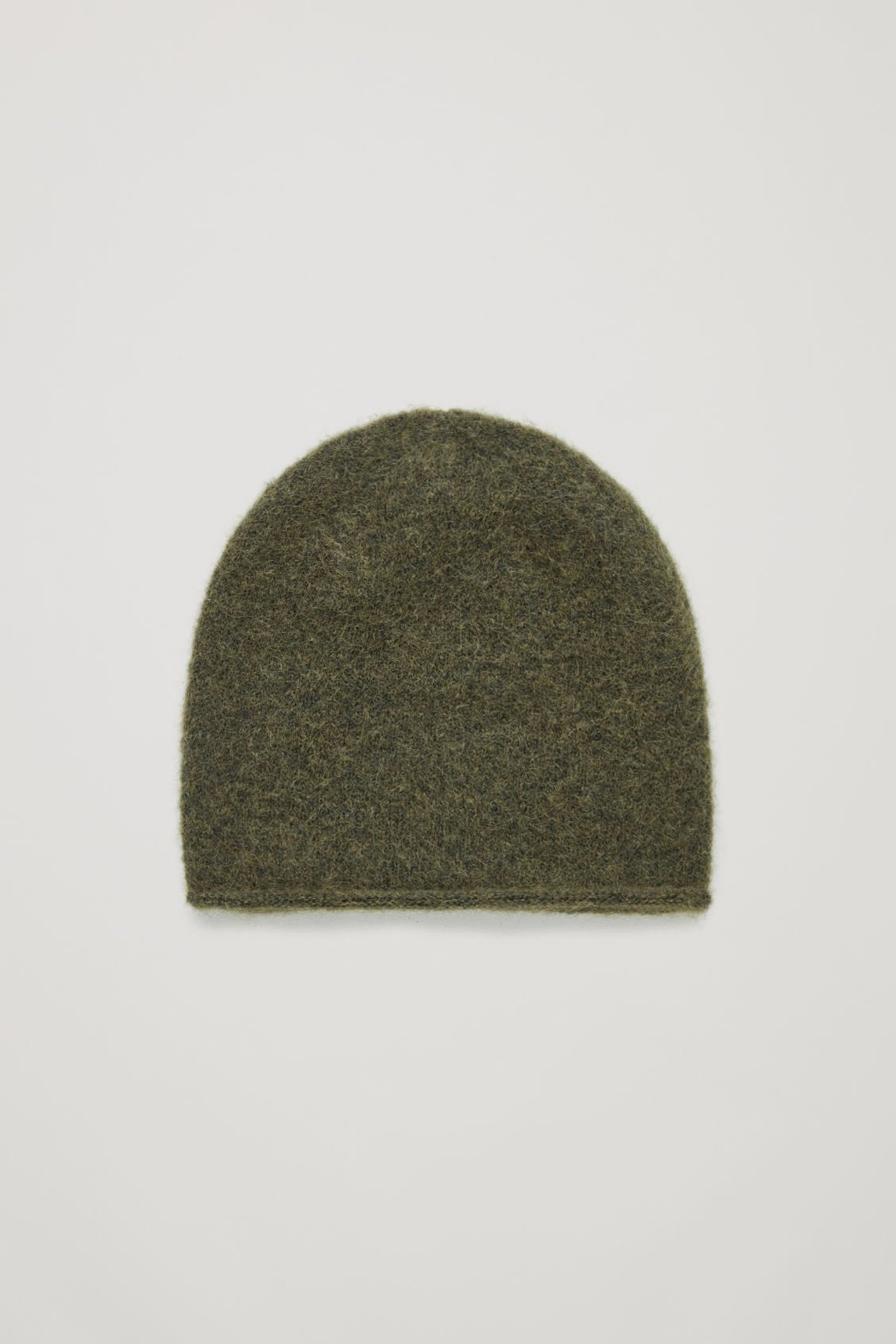 WOOL-MIX BEANIE HAT - Dark khaki - Hats Scarves and Gloves - COS 4798969abf0d