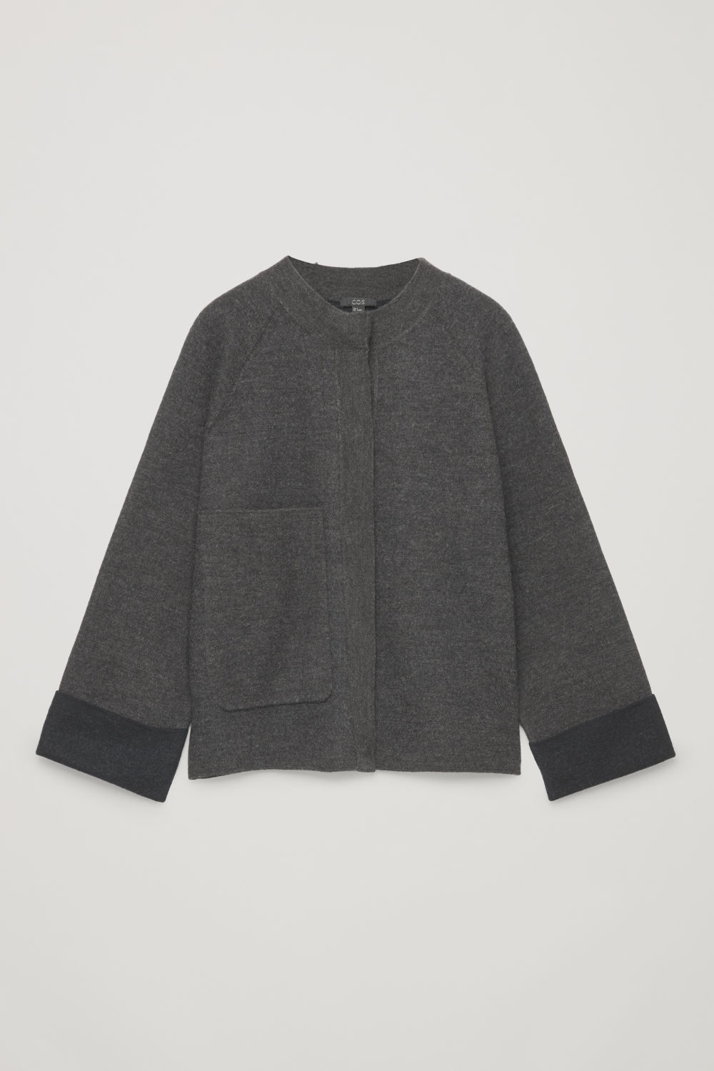 BOILED MERINO-WOOL JACKET