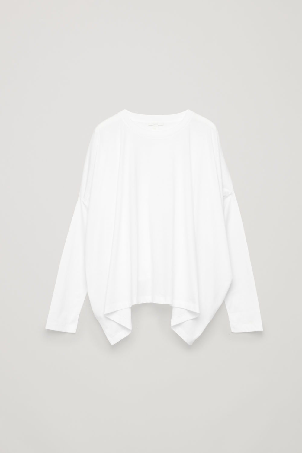 BOXY COTTON JERSEY TOP