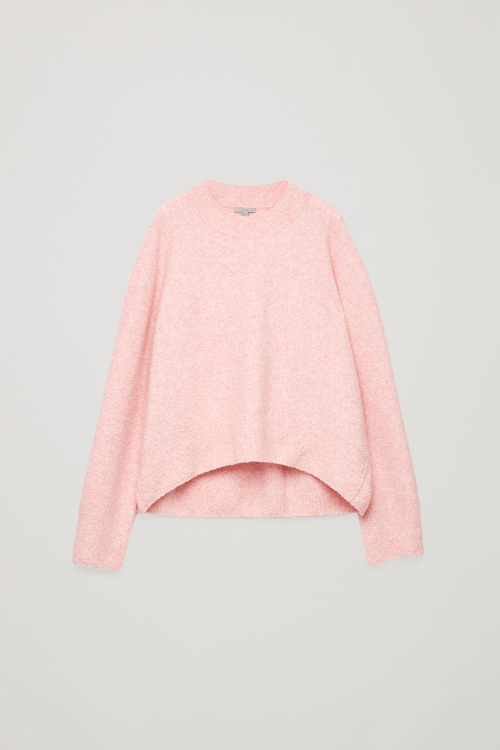 OVERSIZED WOOL-BOUCLE JUMPER
