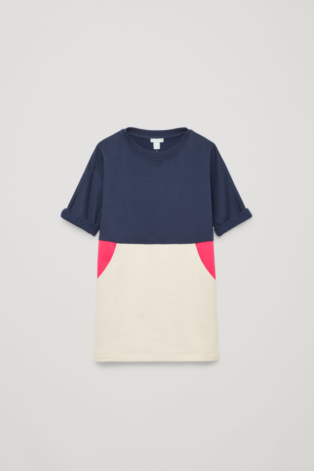POUCH-POCKET COTTON DRESS