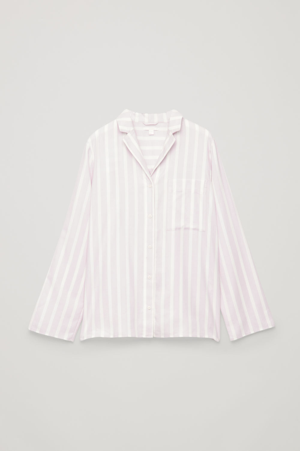 COTTON-FLANNEL PYJAMA SHIRT