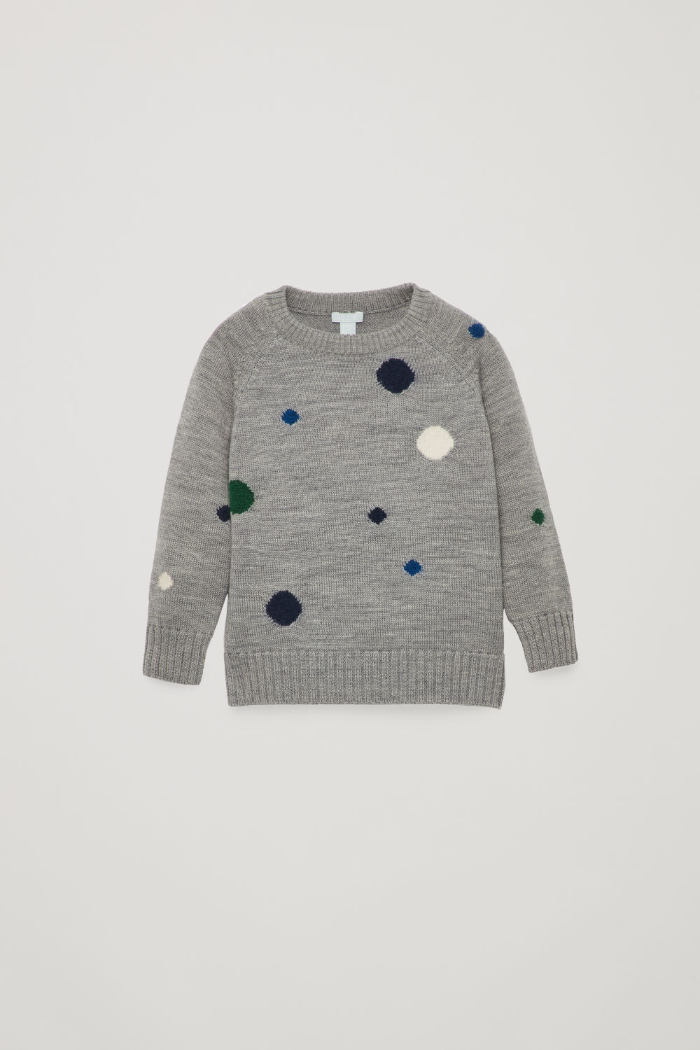 DOTTY MERINO-KNIT JUMPER
