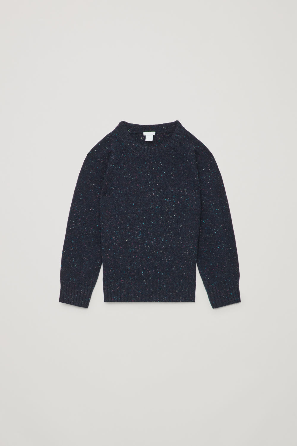 FLECKED WOOL JUMPER