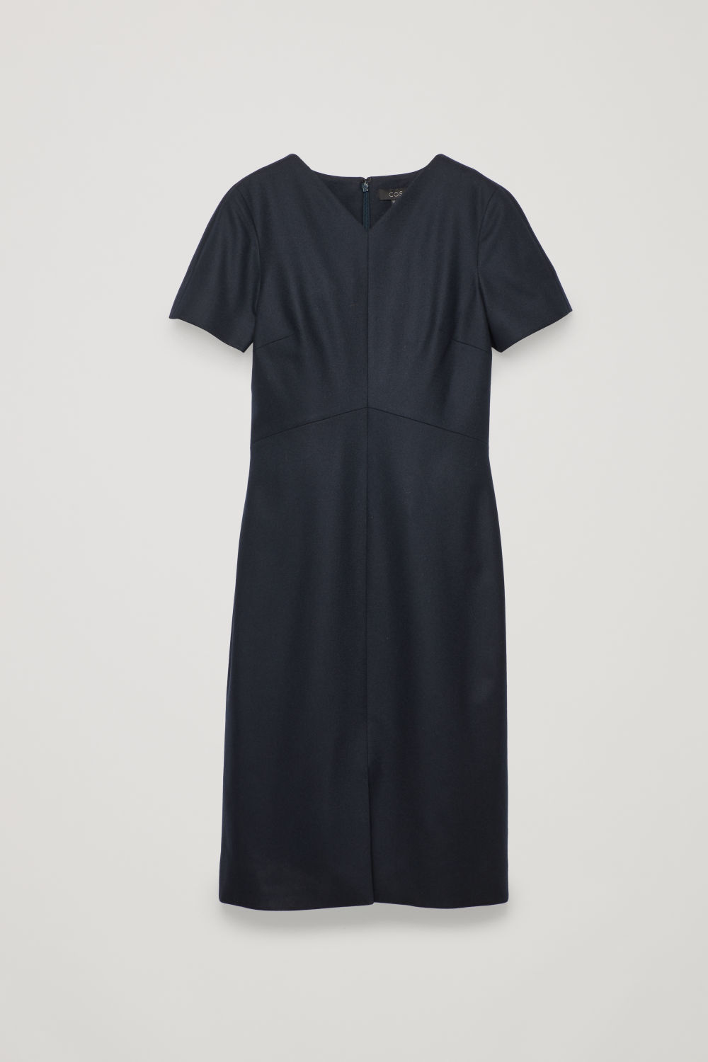 WOOL-CASHMERE TAILORED DRESS