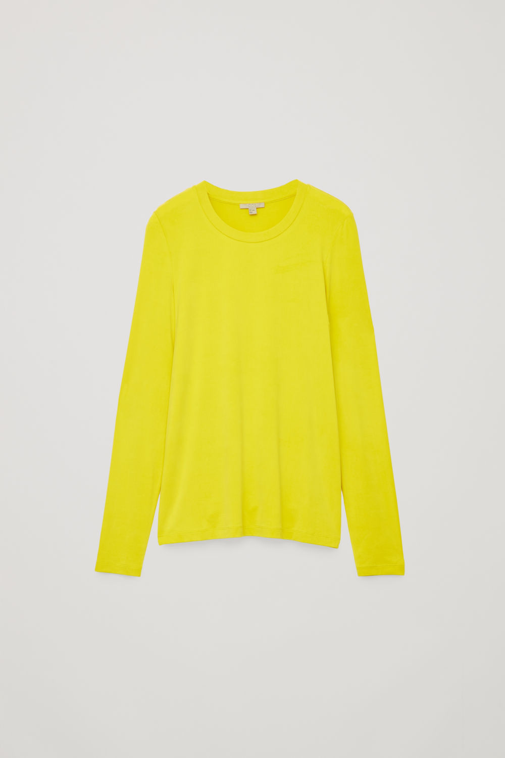 SLIM-FIT LONG-SLEEVED TOP