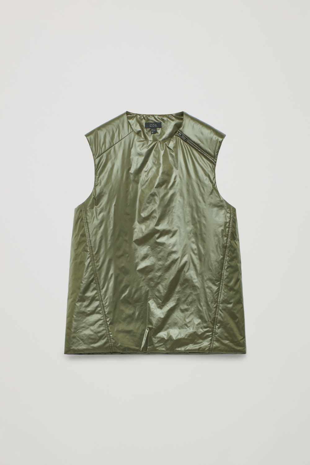 PADDED SLEEVELESS VEST