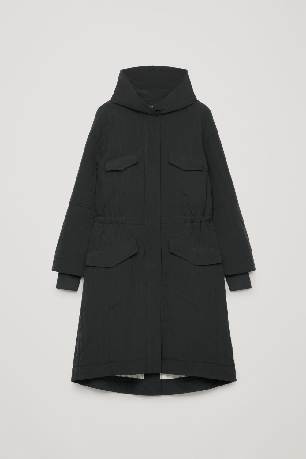 PADDED PARKA WITH DRAWSTRING
