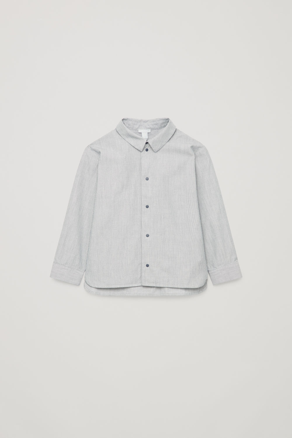 COTTON SHIRT WITH SNAP BUTTONS