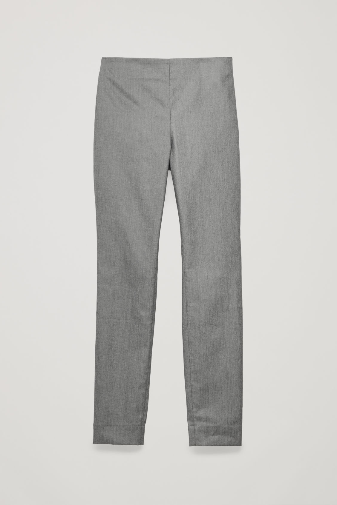 Front image of Cos skinny-fit legging trousers in grey