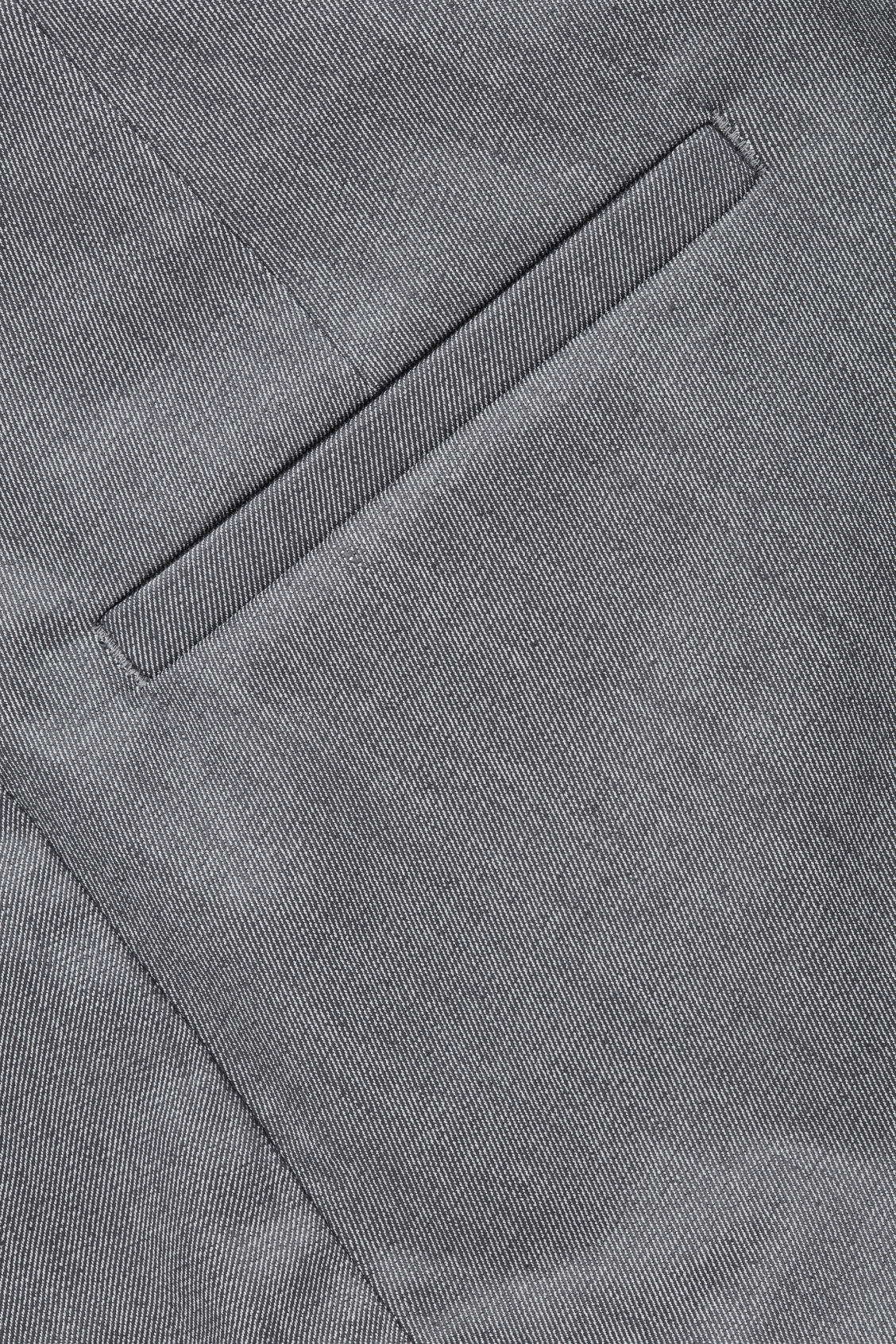 Side image of Cos skinny-fit legging trousers in grey