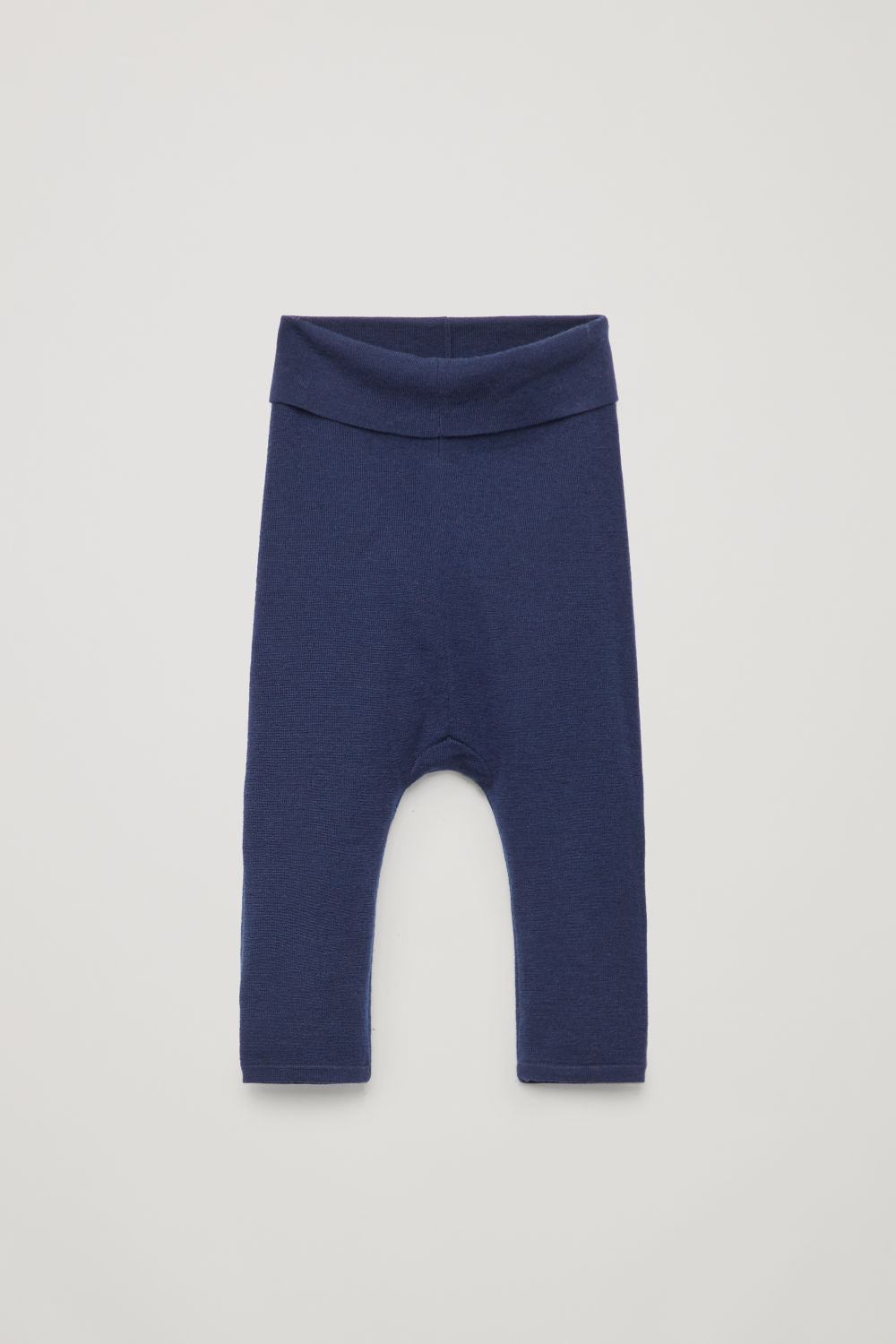 MERINO-WOOL KNIT TROUSERS