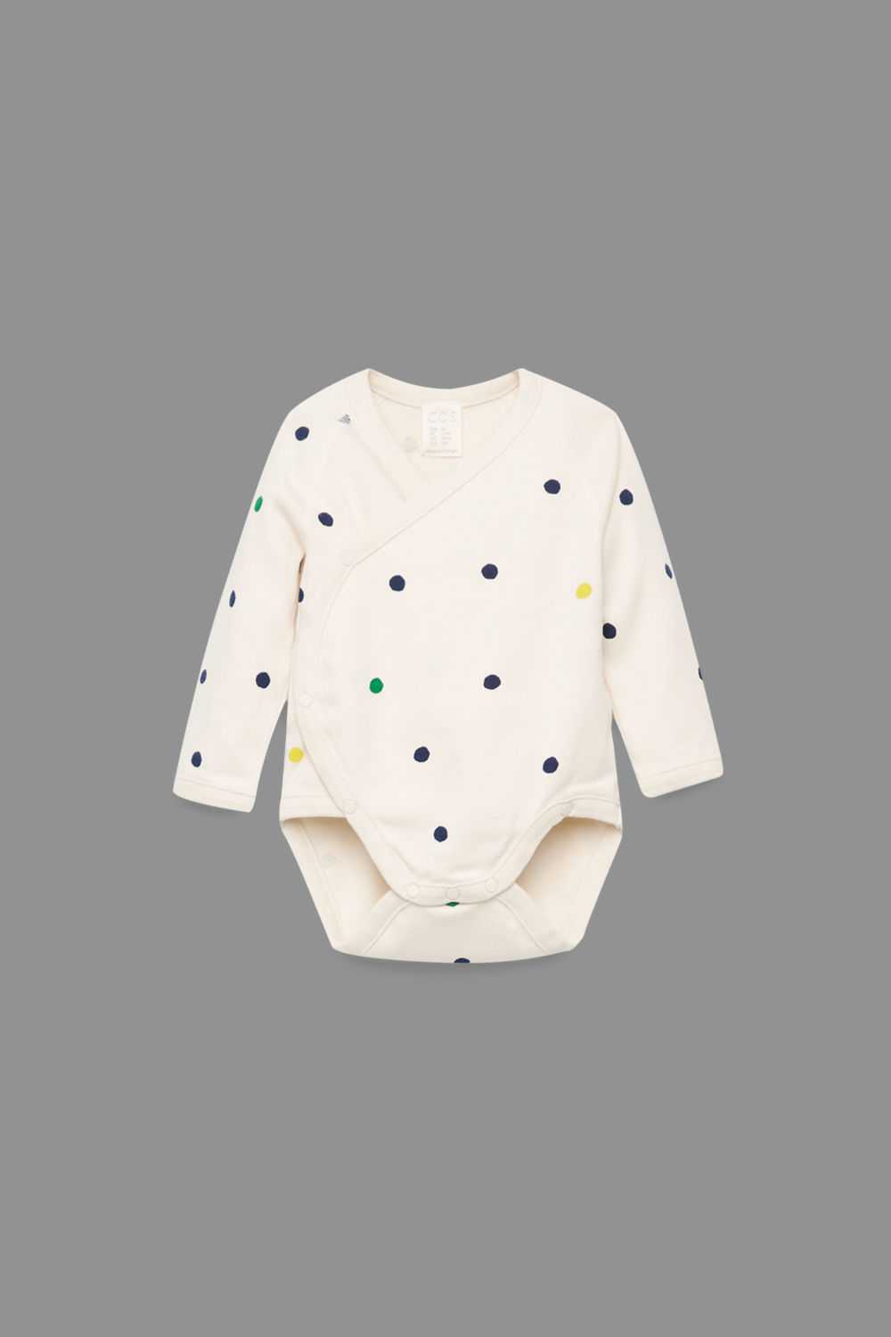 PRINTED ORGANIC-COTTON BODYSUIT