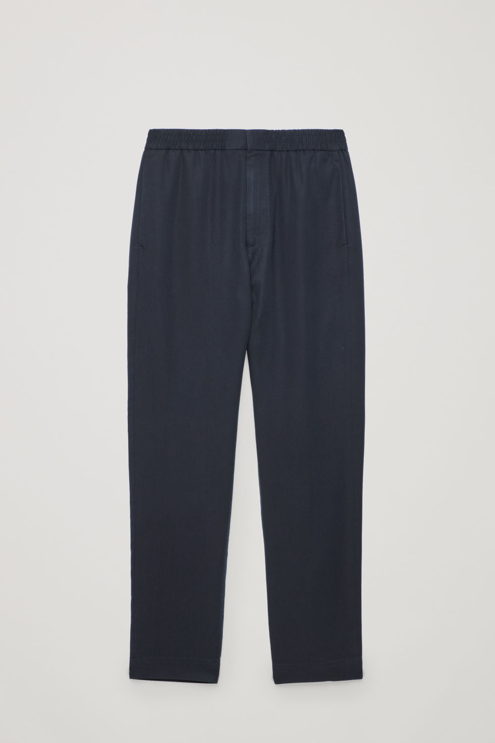 ELASTICATED TAILORED TROUSERS