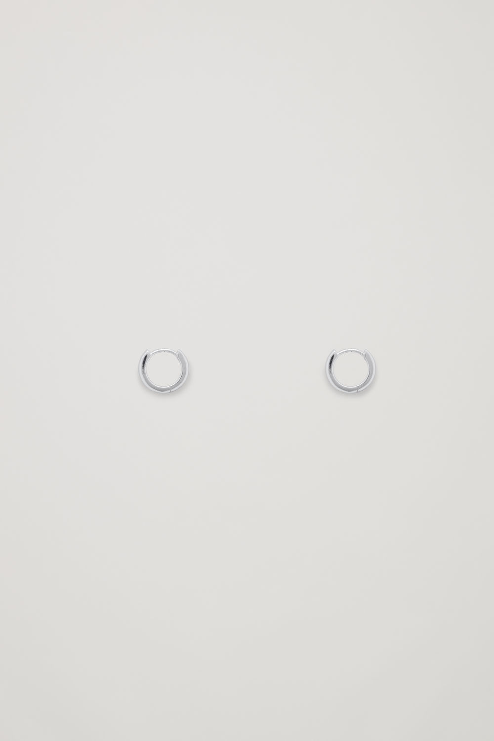 STERLING SILVER MICRO HOOP EARRINGS