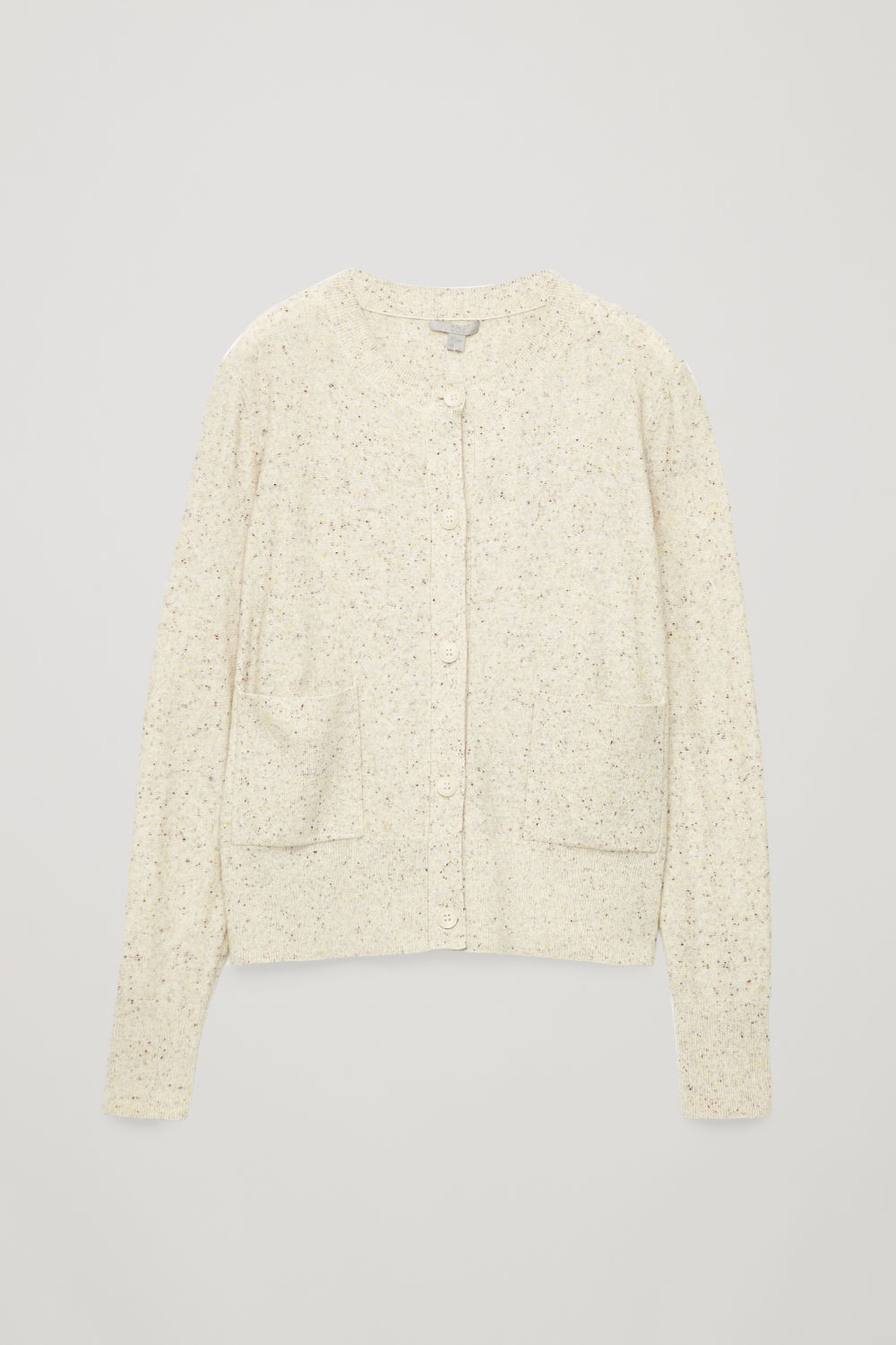 SPECKLED CARDIGAN WITH POCKETS