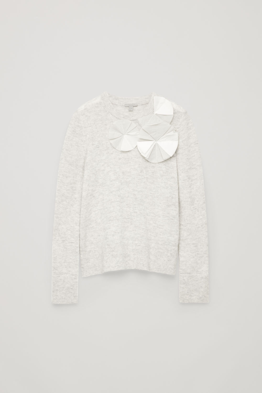 APPLIQUE KNITTED JUMPER