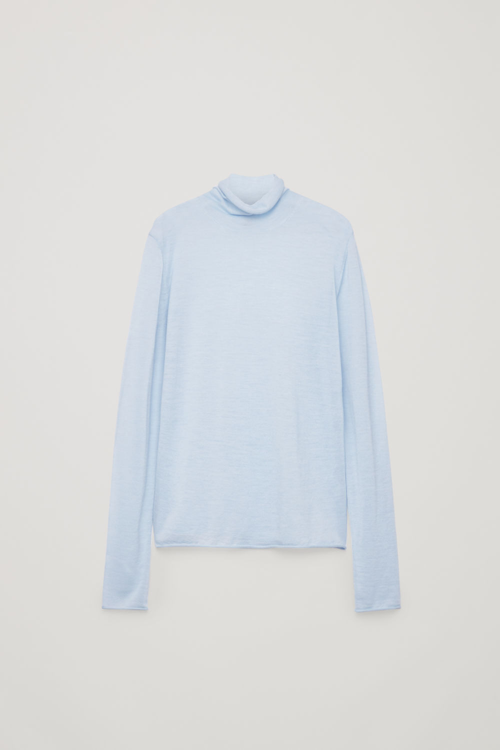 FINE MERINO HIGH-NECK JUMPER
