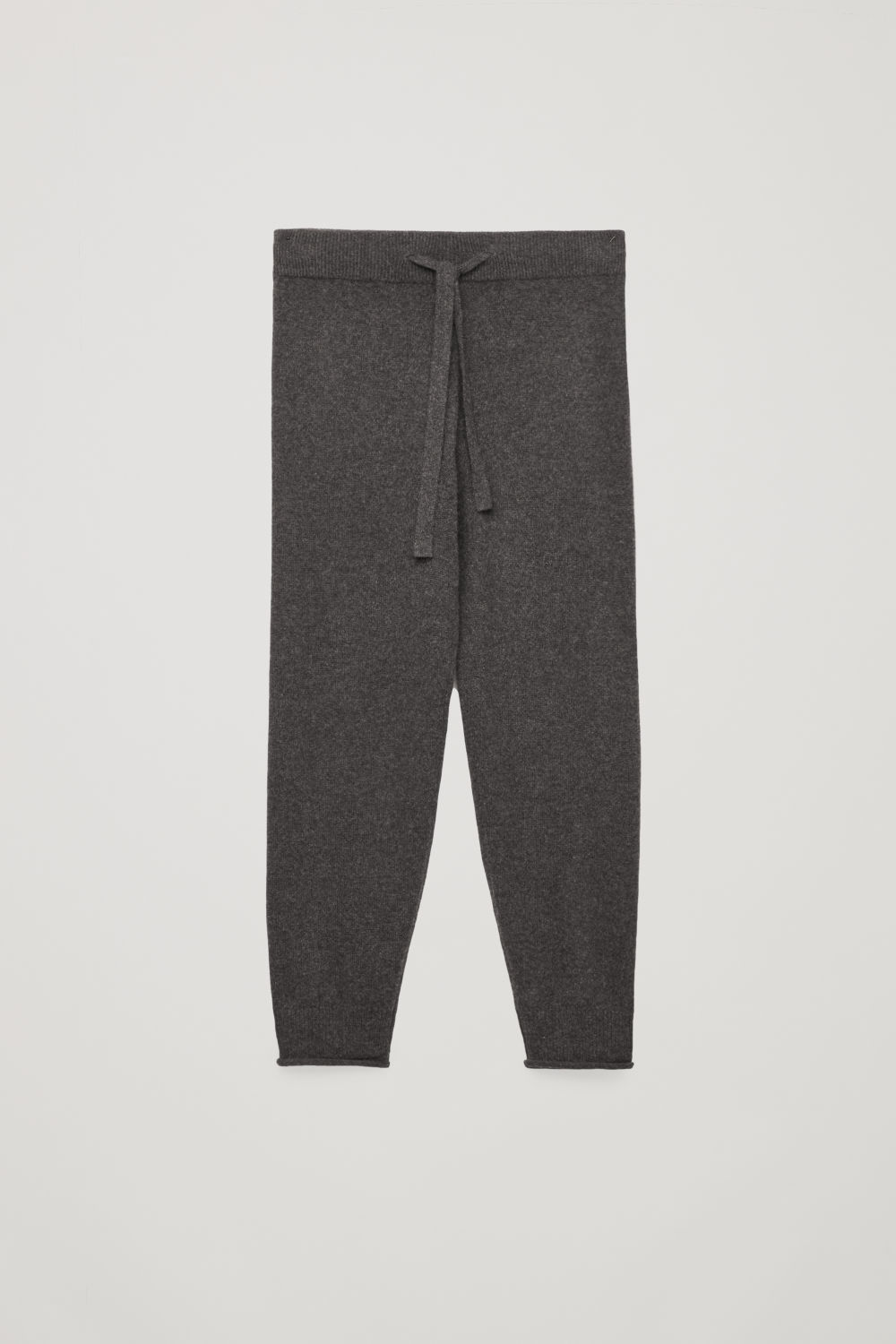CASHMERE DRAWSTRING TROUSERS