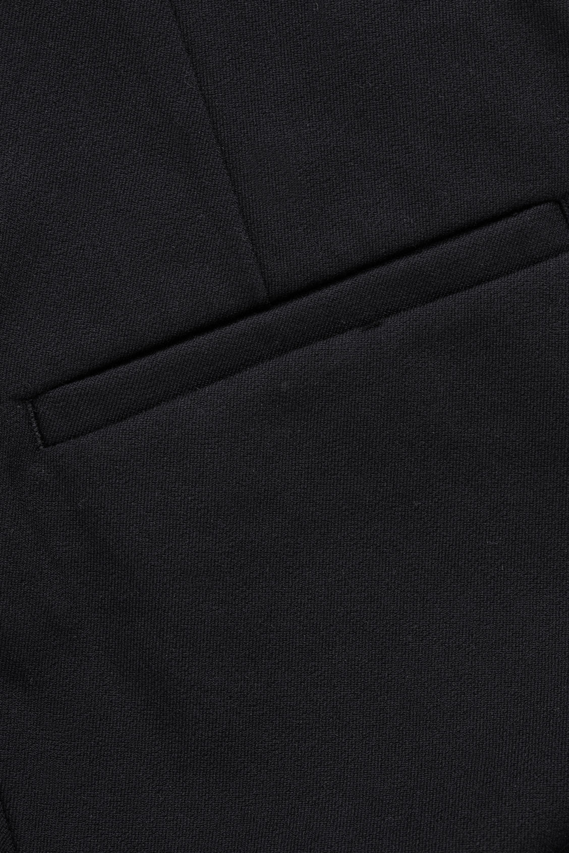 Side image of Cos skinny legging trousers in black