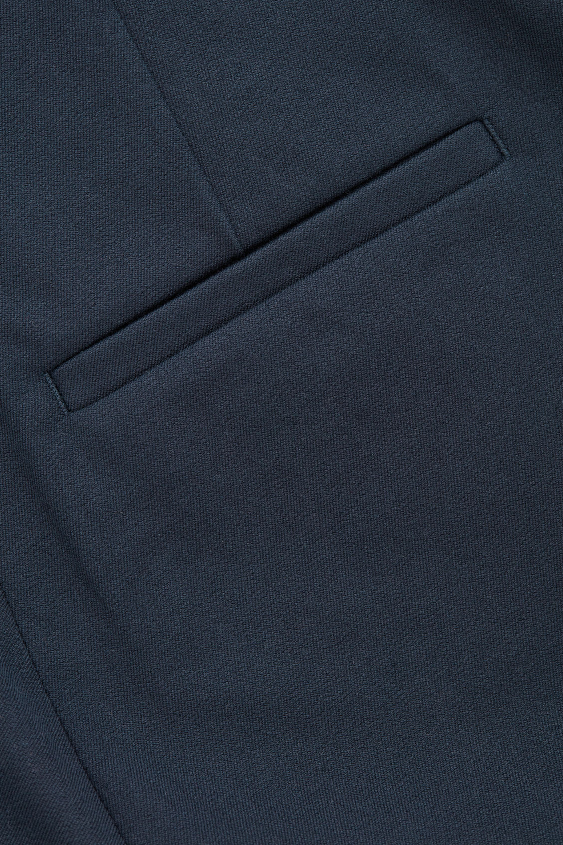 Side image of Cos skinny legging trousers in blue