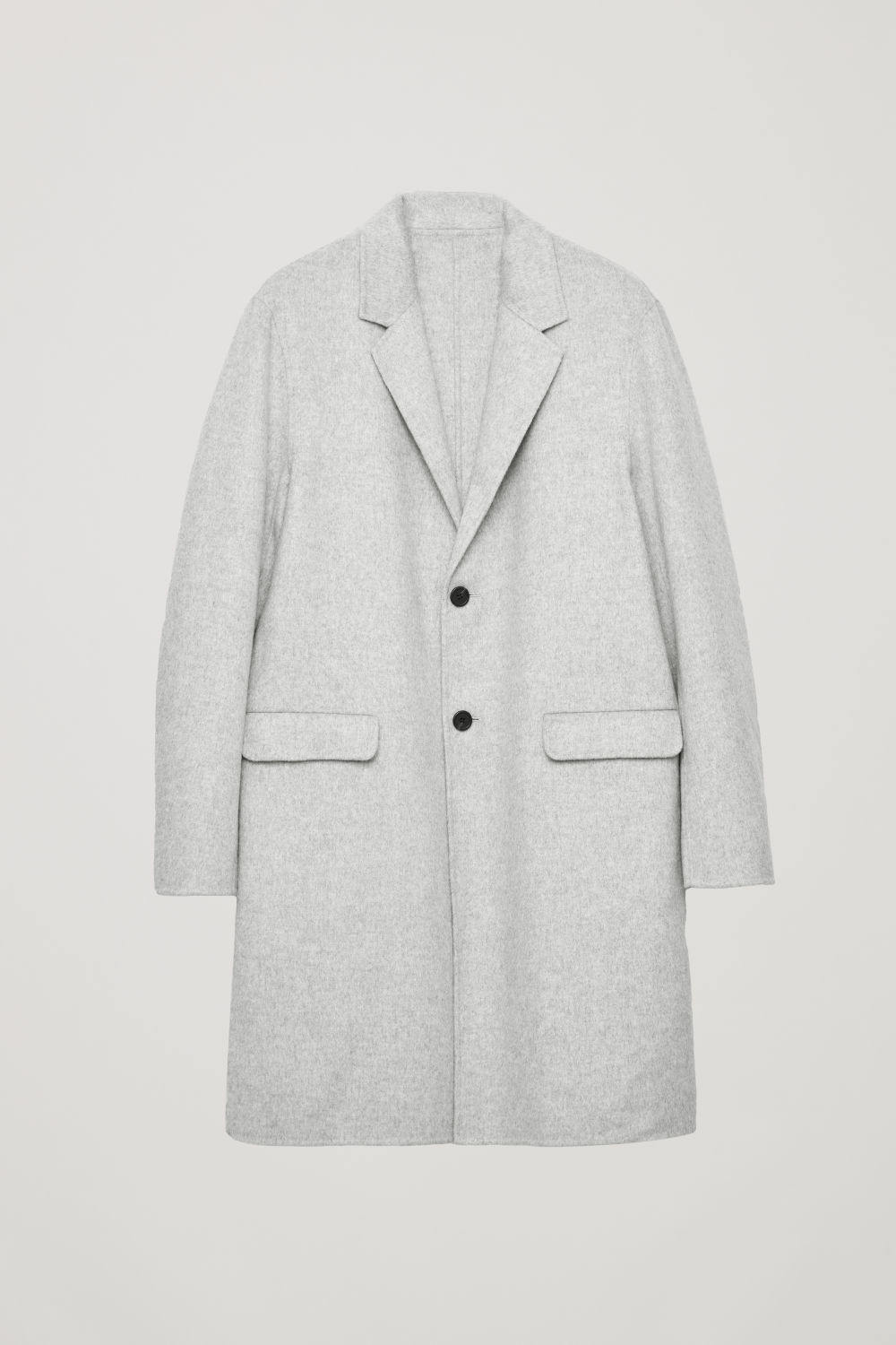 DECONSTRUCTED WOOL COAT