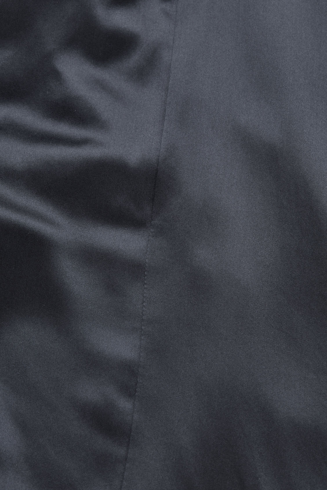 Side image of Cos bias-cut silk mid-length skirt in blue