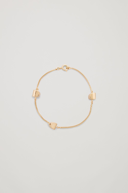 Curved Pendant Bracelet