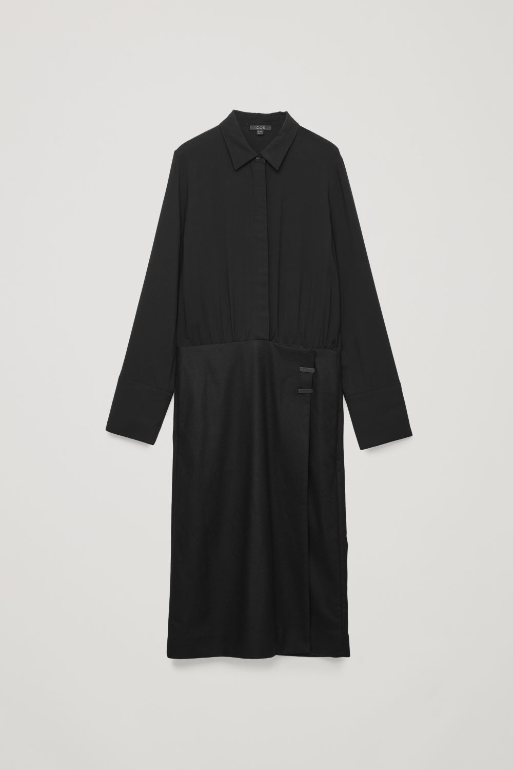 LONG COAT-STYLE DRESS