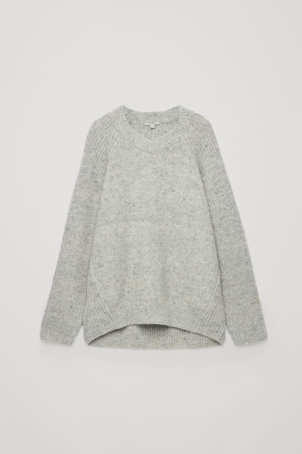 OVERSIZED WOOL-KNIT JUMPER
